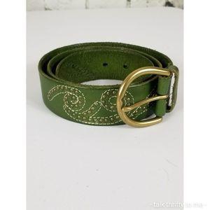 LINEA PELLE | Studded Leather Belt Medium
